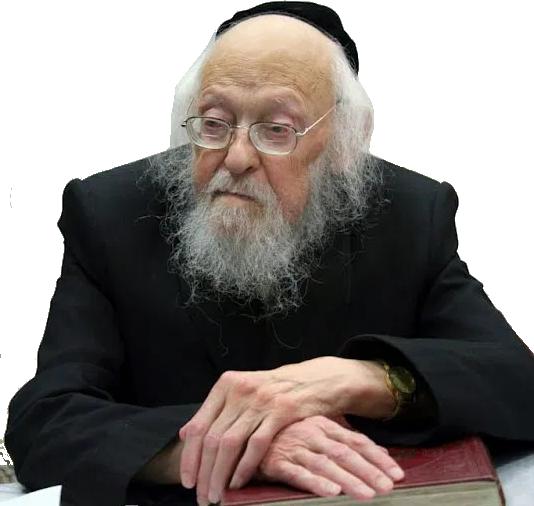Maran Hagaon Hagadol Harav Yosef Sholom Elyashiv