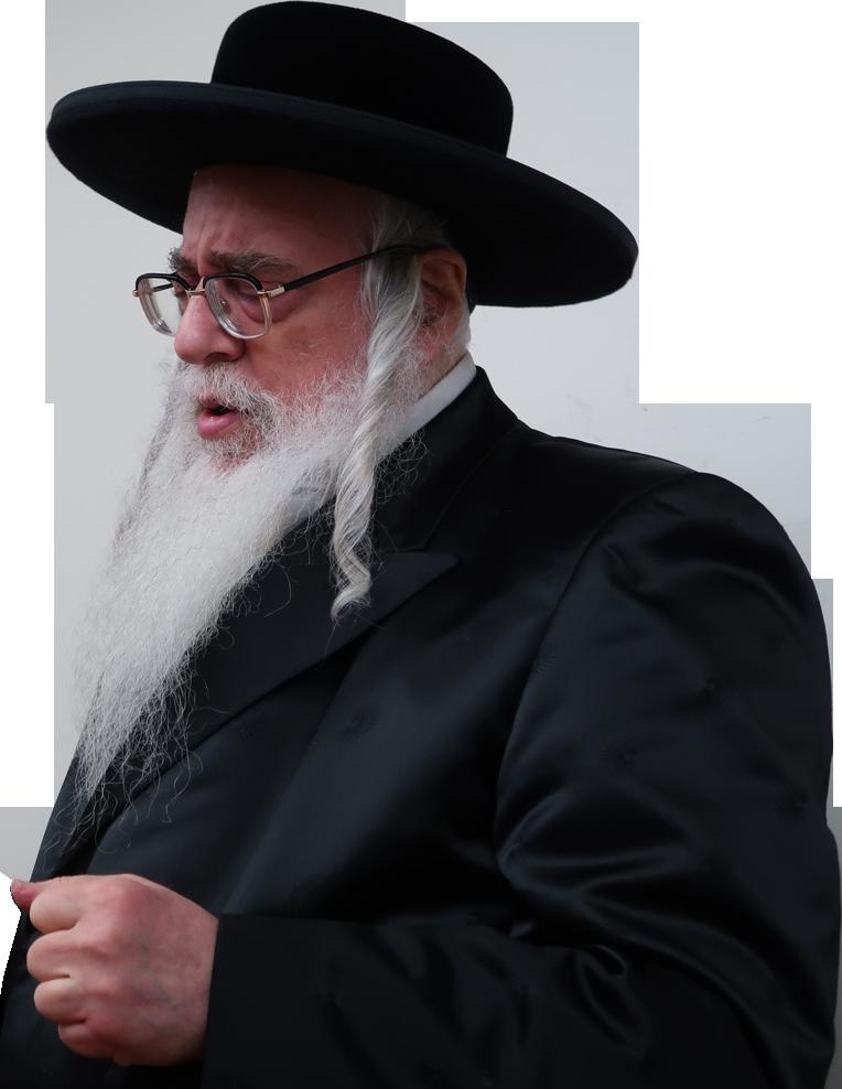 The Sanzer Rebbe
