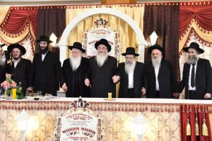 Siyum Hashas of the 62 Gaonim of the Kollelim